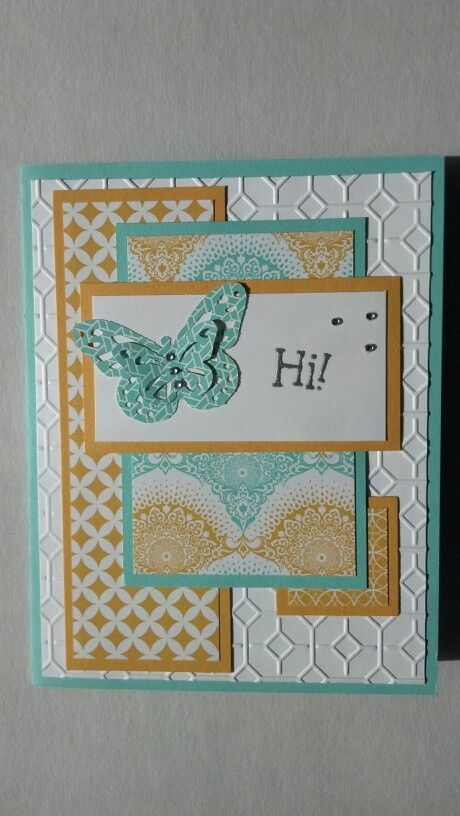 A handmade card would be nice with different colors and embellishments.