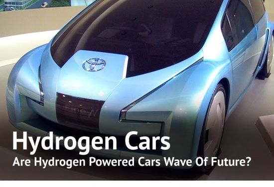 Are Hydrogen Cars The Wave Of The Future? Toyota Thinks So.