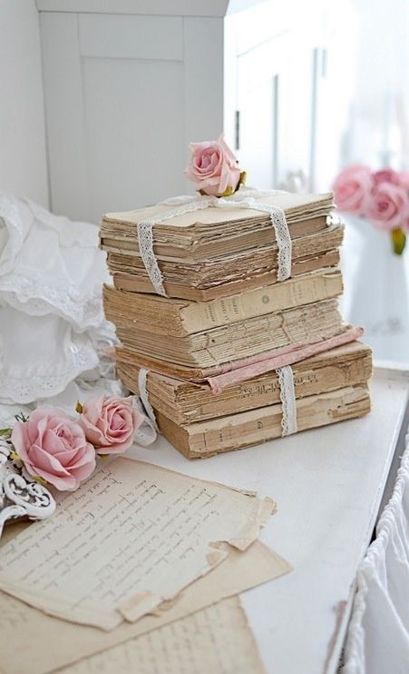 Rose Journals  #shabbychic