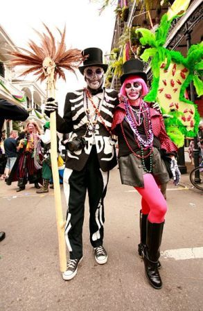 Costumes for Mardi Gras