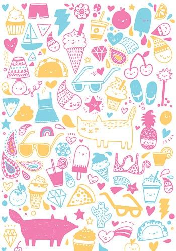 cute phone wallpaper kawaii