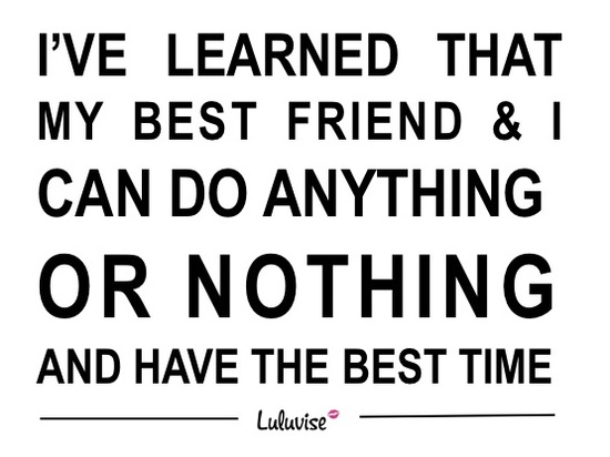 Best friends quote :)