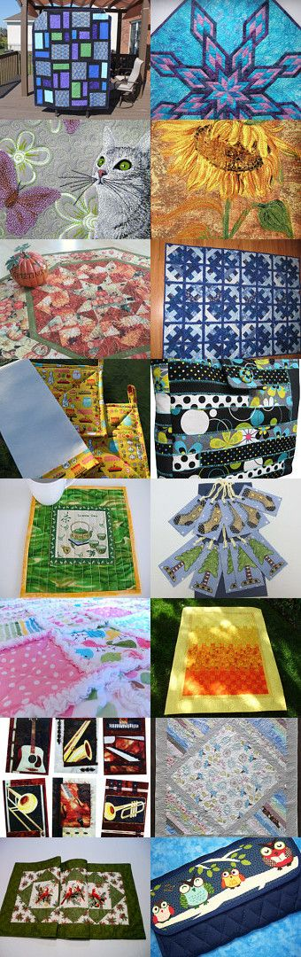 100% Handmade Quilting on Etsy