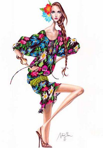 elena arturo, fashion illustration, illustration,