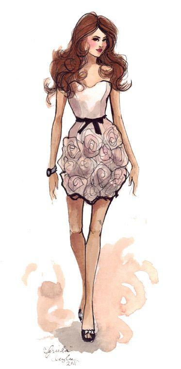 """""""bridesmaid gifts"""" ~FRIEDA~    Artist  ~Inslee Haynes~  April 29 2011"""