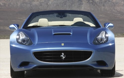 Cool Baby Blue #Ferrari California