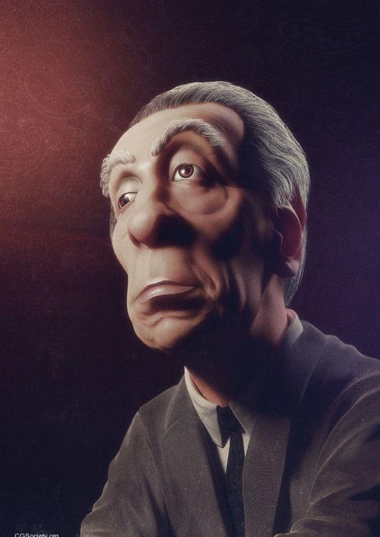 Impressive 3D Character Designs by Carlos Ortega Elizalde