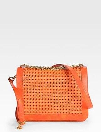 50 Dream Handbags: Stella McCartney Braided crossbody bag, $1,325 #handbags, #handbags galore, #purse, #shoulder bag, #evening bag, #designer bags, #valentino bags.