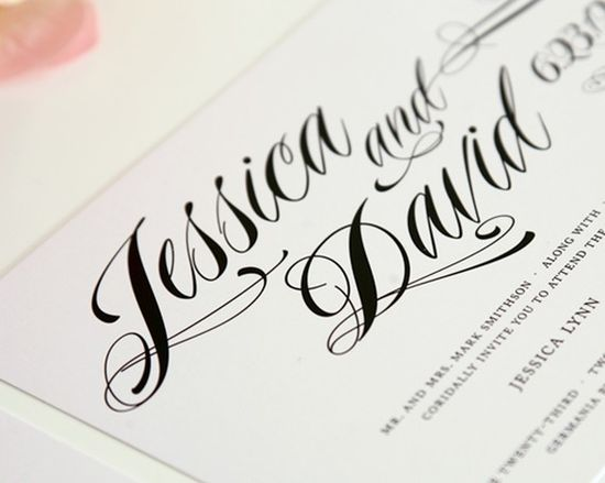 Ravishing Script Wedding Invitations, Purchase this Deposit to Get Started on Etsy, $100.00