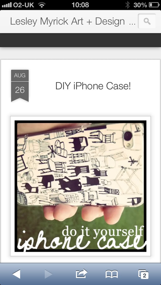 iPhone DIY covers