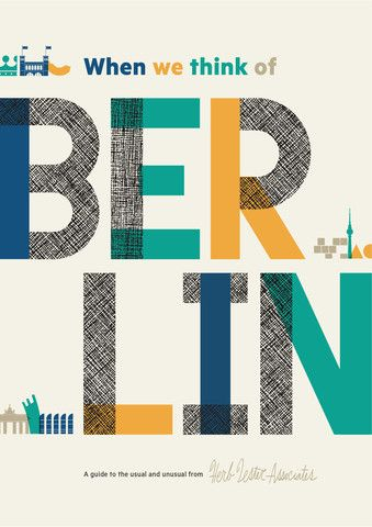 When We Think Of Berlin travel guide