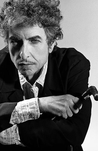 Bob Dylan, photo by Annie Leibovitz