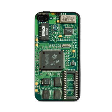 Circuit iPhone 4/4S Case