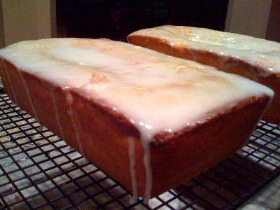 Lemon loaves