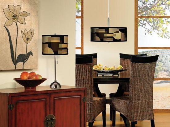 A contemporary dining room design idea.