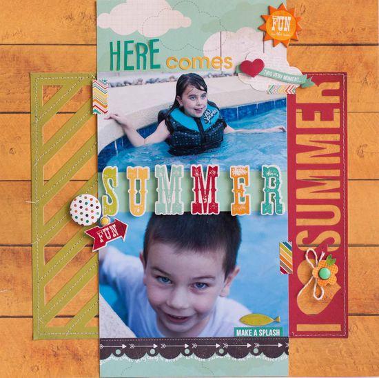 Here Comes Summer **Simple Stories** - Scrapbook.com