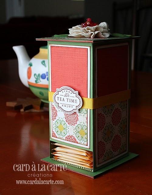 Tea bag dispenser.  Nice gift idea.