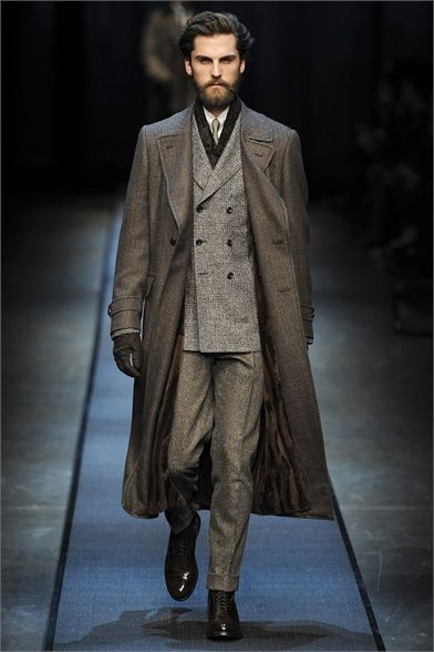 Canali - Men Fashion Fall Winter 2013-14 - Milan