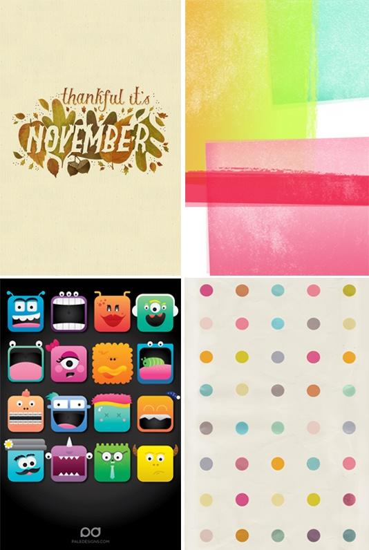 iphone wallpapers + freebies!