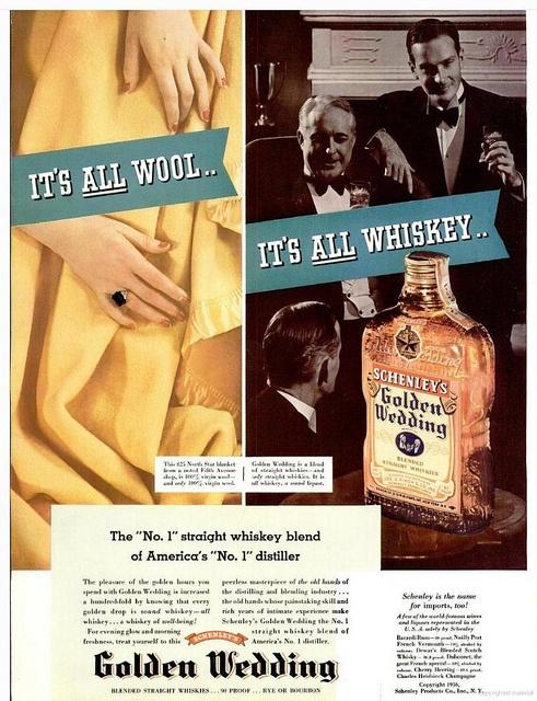 Golden Wedding whiskey