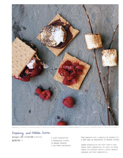 Nutella Raspberry S'mores