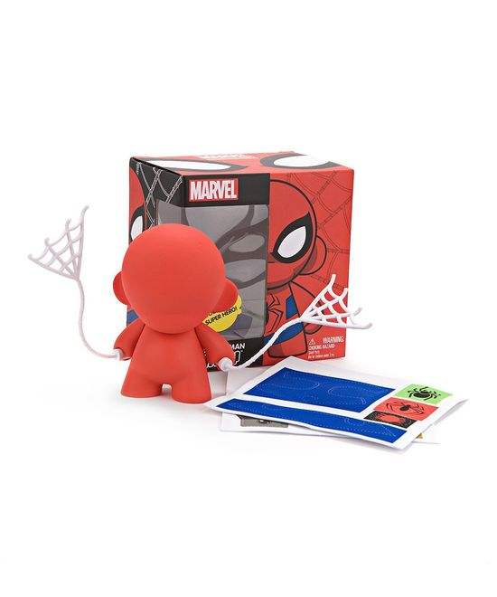 Do-It-Yourself Spider-Man Toy