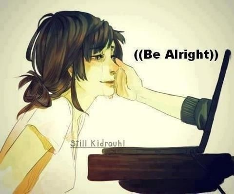 Haha how I feel when I here that song it always makes me feel better:)