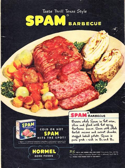 BBQ Spam. Mmmm!