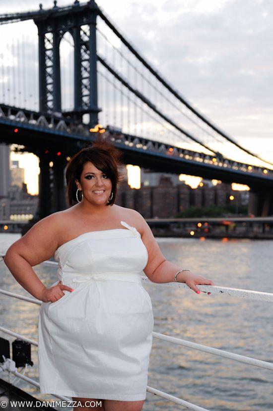 Danimezza NYC FFFWEEK White Cruise Plus Size Jessica Kane Torrid