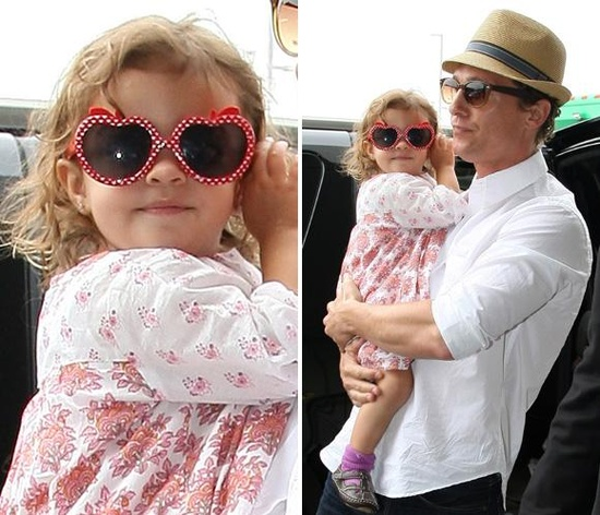 Matthew McConaughey y su hija, Vida #actors #people #celebrities #kids