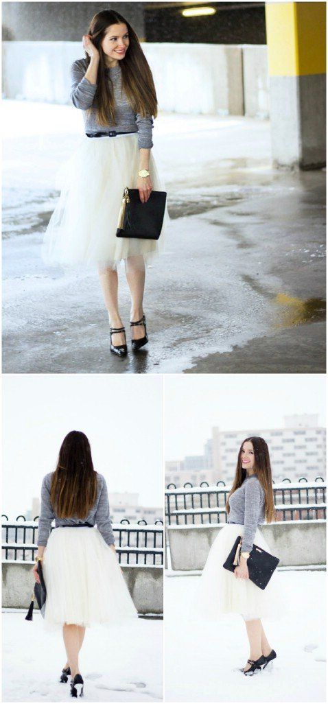 DIY Tulle Skirt Step by Step Instructions