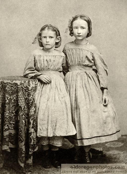 Deux filles de Albany - c. 1867
