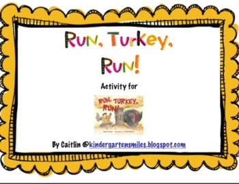 Turkey Craft/Writing Project