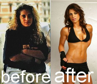 """Jillian Michaels """"before and after"""""""