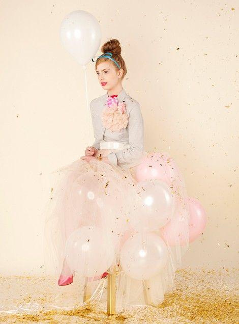 balloon skirt!