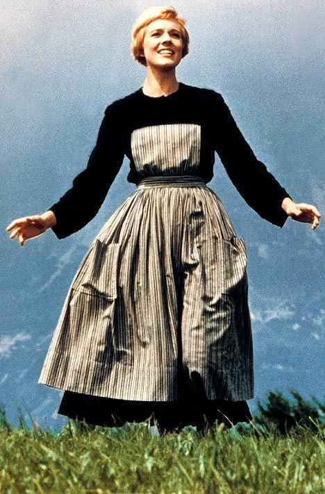 """Julie Andrews, film still from """"The Sound of Music"""""""