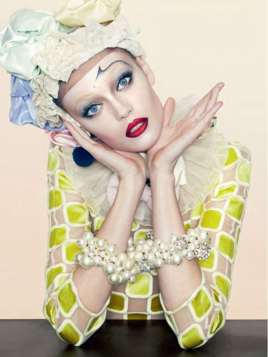 Diana Moldovan for Jalouse Magazine February 2013 by Timur Celikdag