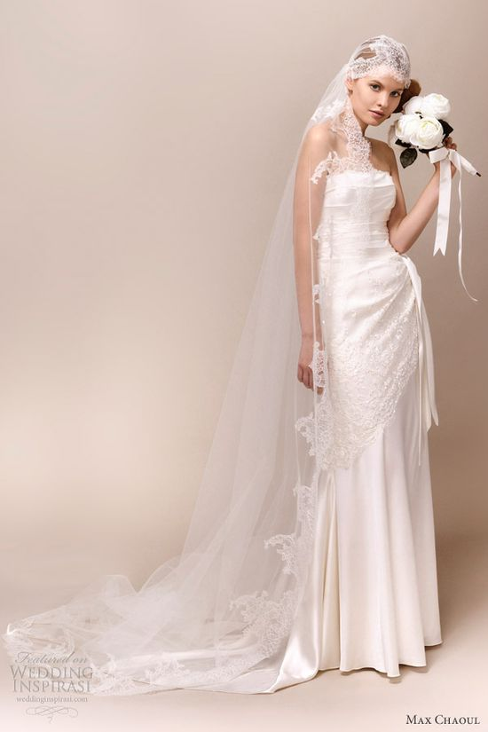 Max Chaoul Couture 2013 Wedding Dresses