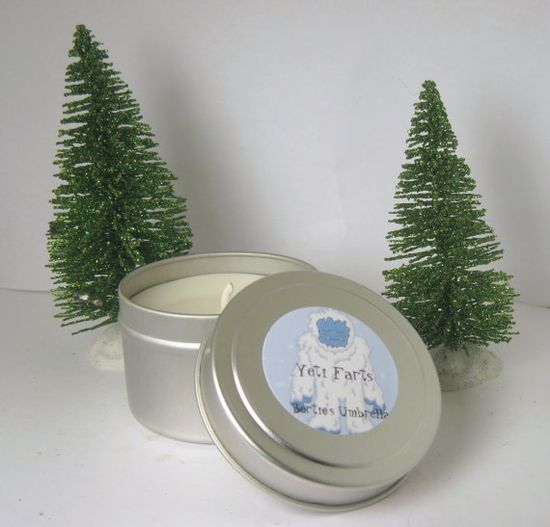 Yeti Farts  Scented Candle