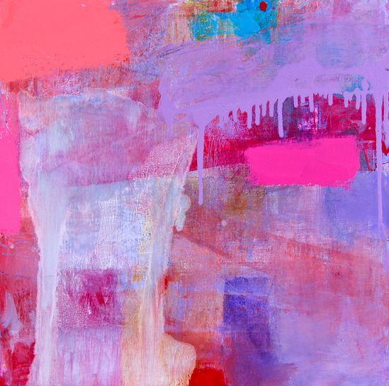 "Saatchi Online Artist: Lisa Marie Yvonne Duval; Oil, 2012, Painting ""Dirty Little Sweet Lies"""