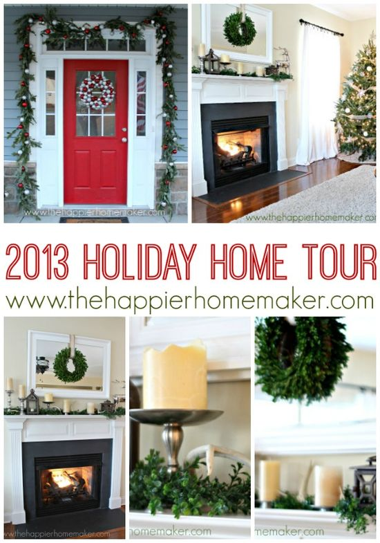 All Things Home Christmas Tour 2013 Christmas decor