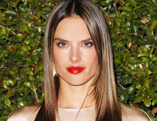 @Byrdie Beauty - What's Inside Alessandra Ambrosio's Makeup Bag? The Victoria's Secret Model Spills All!