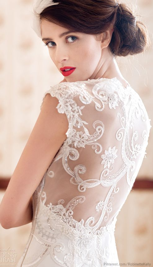 Charlotte Balbier 2014 Wedding Dresses #weddingdress #weddinggown #wedding