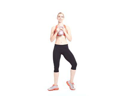Calorie-Blasting Kettlebell Kickboxing Workout