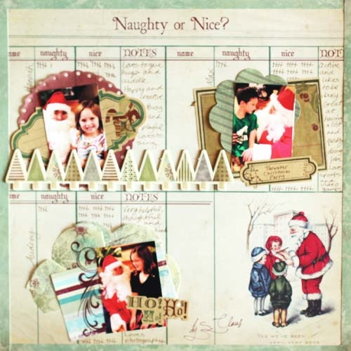 Naughty or Nice? - Scrapbook.com