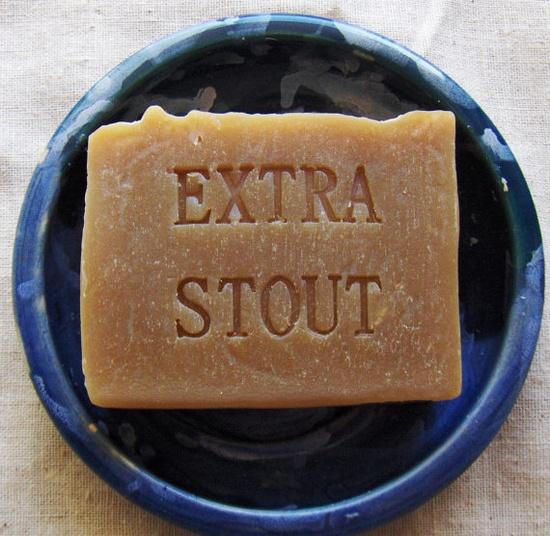 Beer Soap - Extra Dark Stout Soap - Vegan Soap - Handmade Soap