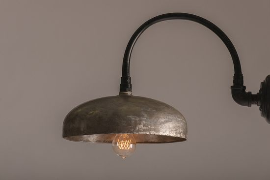 Upcycled industrial lighting. Etsy.
