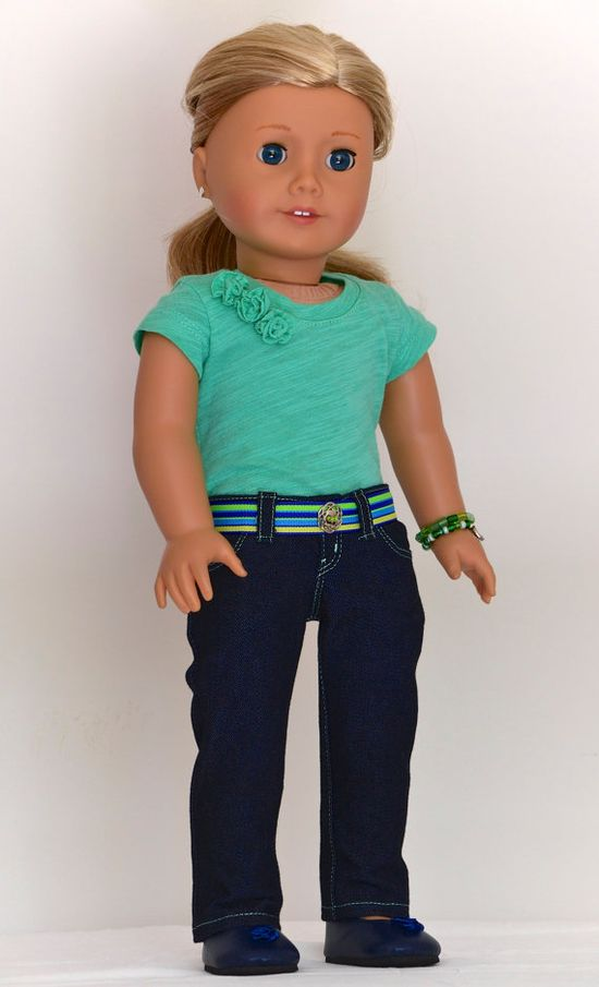 18 inch American Girl  Doll Clothing Lowrise by Simply18Inches, $68.00