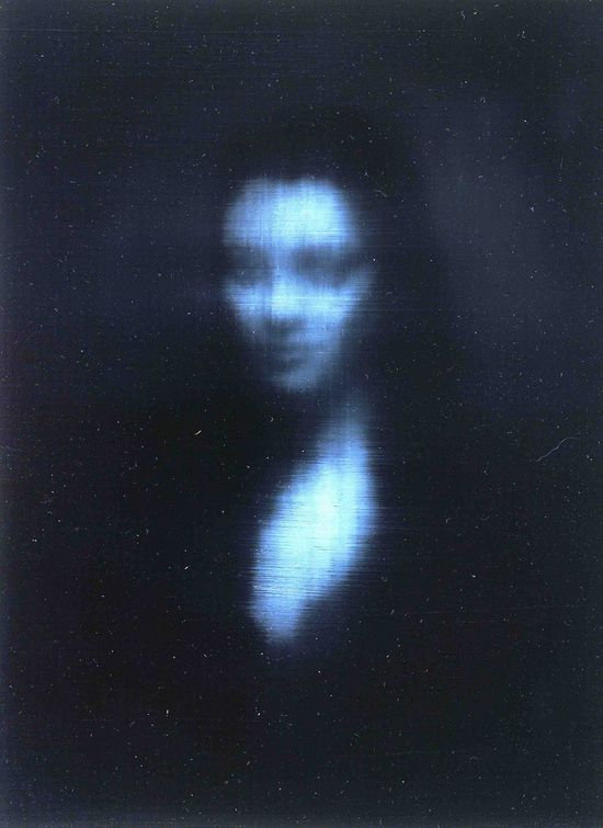 Woman, oil on canvas, Alison Van Pelt