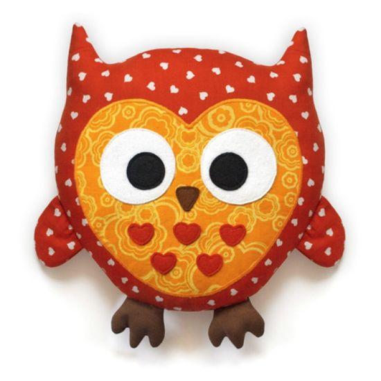 Plush Animal Sewing Kit - Pattern & Fabric - Owl  $19.95